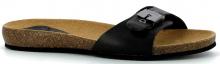 Scholl BAHAMAIS dámské zdravotní  pantofle černá