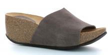 Schol ENIGON dámské pantofle šedohnědá