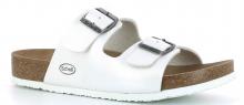 Scholl SHO AMELIA pantofle dámské zdravotní pantofle bílá