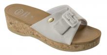 Scholl WAPPY  dámské pantofle bílá