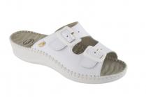 Scholl WEEKEND dámské zdravotní pantofle bílá