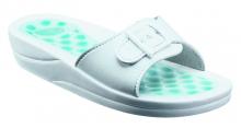 Scholl FITNESS PEBBLE dámské zdravotní pantofle bílá