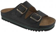 Scholl AIR BAG zdravotní pantofle PROFESIONAL černá