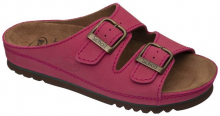 Scholl AIR BAG zdravotní pantofle PROFESIONAL červená