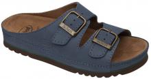 Scholl AIR BAG zdravotní pantofle PROFESIONAL modrá