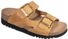 Scholl MOLDAVA WEDGE zdravotní pantofle hnědá