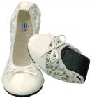 Scholl POCKET BALLE dámské balerínky bílá