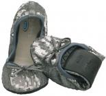 Scholl PB NEW SEQUINS dámské balerínky stříbrná