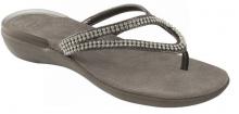 Scholl LULU dámské pantofle šedá