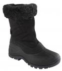 Scholl FLAKE dámská zimní obuv černá