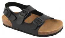 Scholl AIR BAG B/S KID dětské zdravotní sandále černá