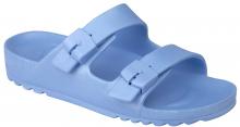 Scholl BAHIA dámské zdravotní pantofle světle modrá