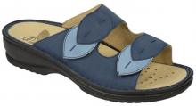 Scholl DAMIETTA dámské pantofle modrá