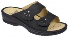 Scholl DELIADE dámské pantofle černá