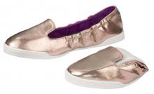 Scholl POCKET SLIP ON dámské balerínky bronzová