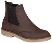 Scholl RUDY dámská kotníková obuv hnědá