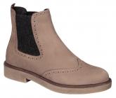 Scholl RUDY TAUPE dámská kotníková obuv hnědá