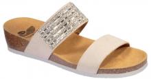 Scholl DAPHNE dámské pantofle béžová