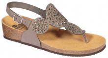 Scholl ABELINE dámské žabky (sandále) šedá