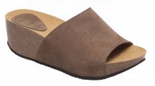 Scholl ENIGAN dámské pantofle hnědá