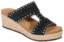 Scholl SHANNON  dámské pantofle černá
