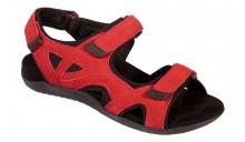 Scholl SPINNER červené zdravotní sandály červená
