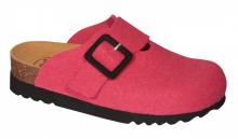 Scholl MAGGIE  domácí obuv fuchsiová