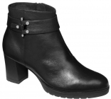 Scholl DANABEL dámská kotníková obuv černá