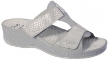 Scholl PRIMULA  dámské pantofle šedá