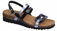 Scholl SOFIA SANDAL dámské zdravotní sandály černá
