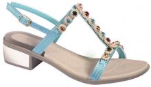 Scholl FLORALIE - dámské sandále na podpatku