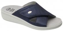 Scholl ANTONIA CROSS dámské pantofle modrá