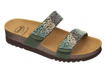 SCHOLL dámské pantofle ZAFIRAH zelená/multi