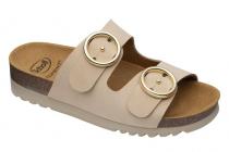 Scholl MALIBU' 2 STRAPS dámské sandále béžová