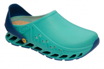 Scholl EVOFLEX obuv profesionnal emerald/navy modrá