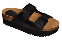 Scholl ALTEA dámské pantofle černá