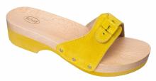 SCHOLL PESCURA dámské pantofle dřeváky žlutá