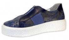 Patrizia dámská uzavřená obuv modrá