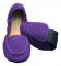 Scholl PB MOCASSIN dámské balerínky fialová